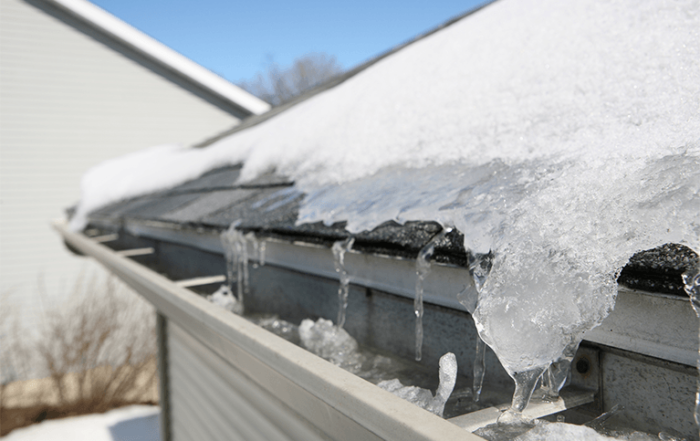 Boise Roofing for Ice Dam repair